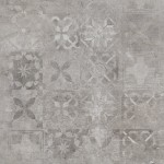 CERRAD SOFTCEMENT SILVER PATCHWORK  59,7X59,7 GAT I