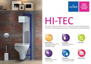 Cersanit HI-TEC do WC K97-255